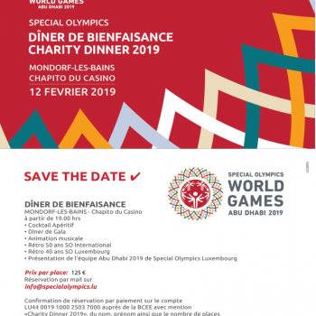 Charity Dinner Special Olympics Luxembourg - IMG 1