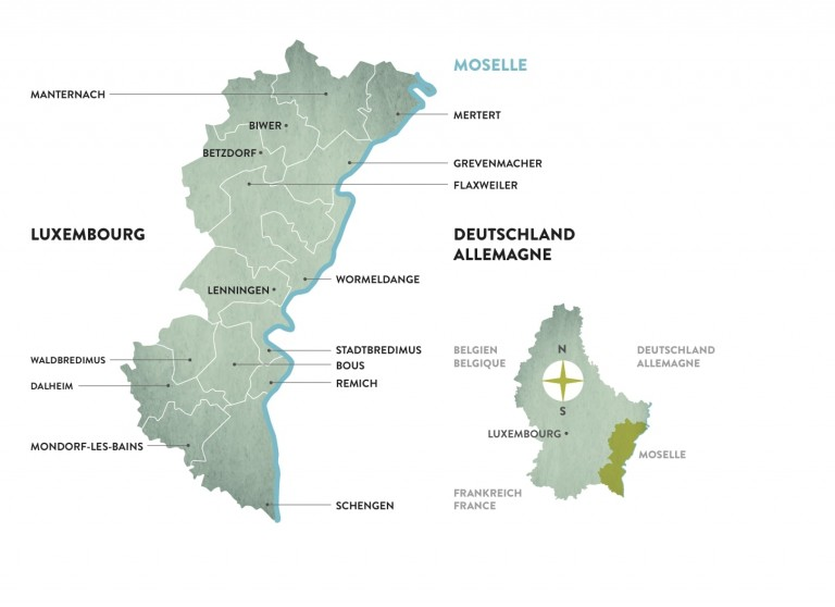 Visitmoselle Map